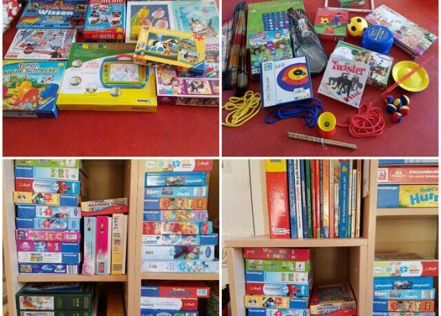 Spiele im Eltern-Kind-Zentrum