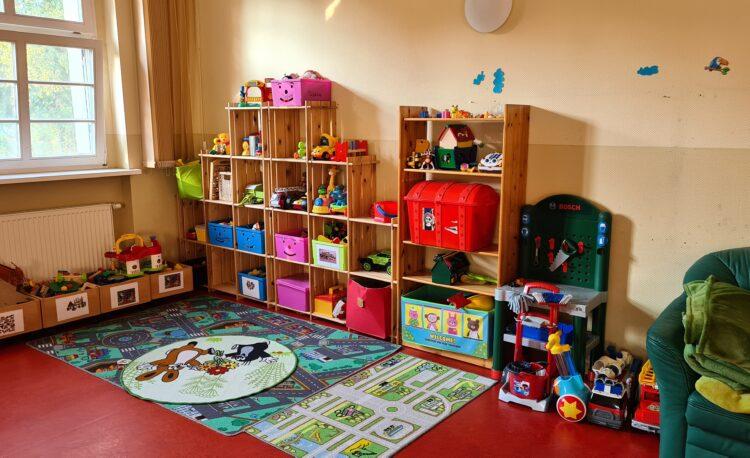 Spielecke im Eltern-Kind-Zentrum