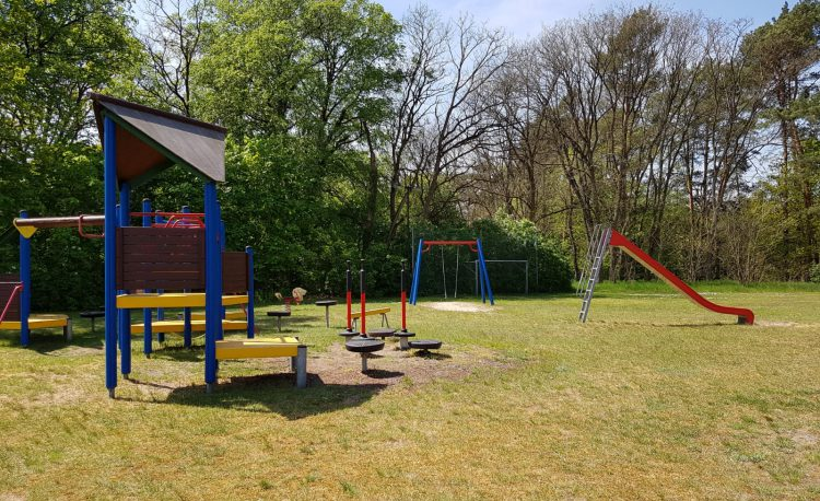 Spielplatz am Bürgerhaus in Kienbaum