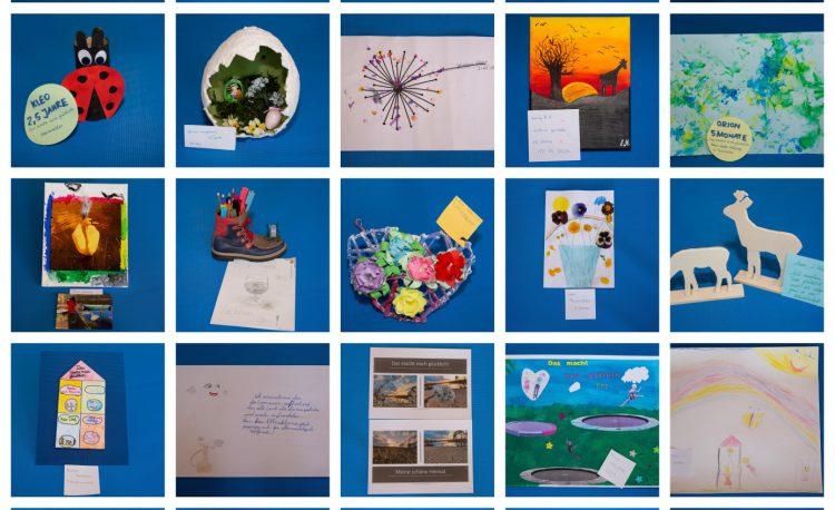 Kunstwerke des Kreativwettbewerbs 2020