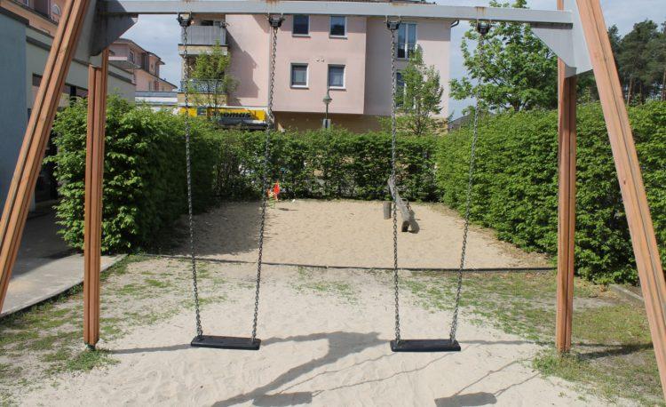Spielplatz am Marktplatz in Grünheide