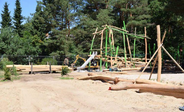 Spielplatz am Unsal in Hangelsberg