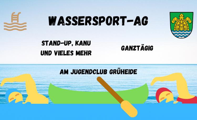 Flyer Wassersport-AG