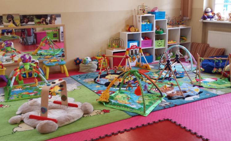 Babyecke im Eltern-Kind-Zentrum