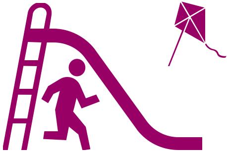 Symbol Spielplatzgestaltung