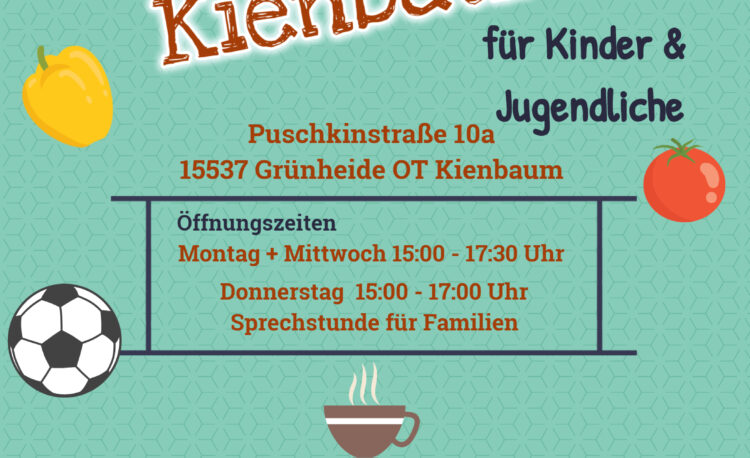 Flyer des Jugendclubs Kienbaum