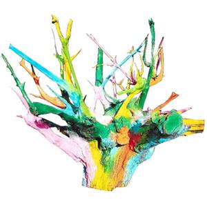 """Logo Keramikatelier """"Bunte Wurzel"""""""