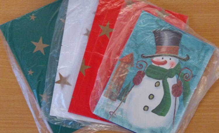 Bastelset Weihnachtskarten