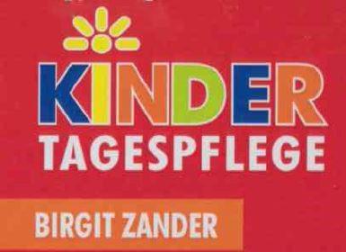 "Logo Kindertagespflege ""Birgits Kuschelmäuse"""