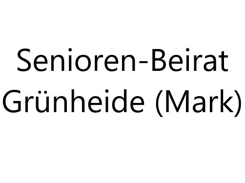 Bündnispartner Senioren-Beirat Grünheide (Mark)
