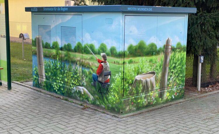 Graffitiworkshop der Jugendlichen in Spreeau