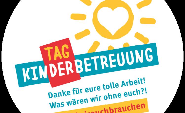 Logo zum Tag der Kinderbetreuung