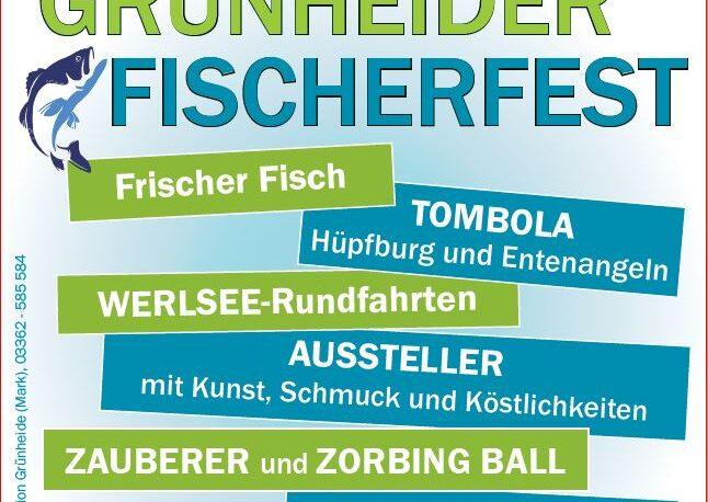 Plakat Fischerfest 2021